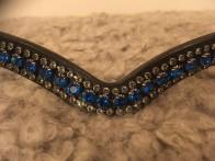 Döbert pannband med Swarowski kristaller