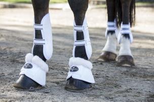Spartan Boots med fleece från Professional Choice - Vita stl L