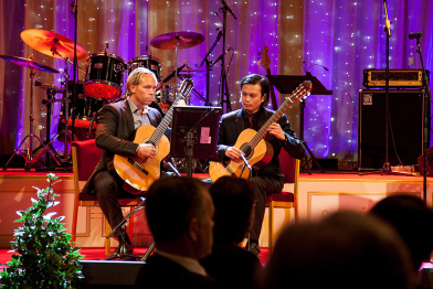 SGA GuitarDuo, konsert i spegelsalen /grandhotel Maj 2014