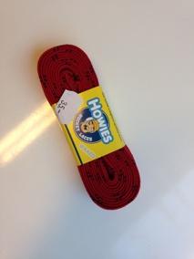 Howies waxade skridskosnören - 274cm röd