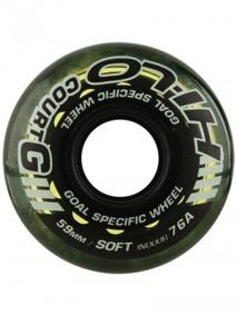 Hi-Lo 76A soft Målvaktshjul  (inomhushjul) - 59mm Hi-Lo court Goalie