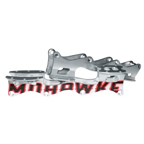 Mohawke Chassi Silverfärgad inkl. Montering - Small 240mm Mohawke chassi