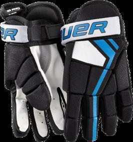 Bauer Pro player gloves rinkbandy/hockeybockey/streethockey handskar) - Small