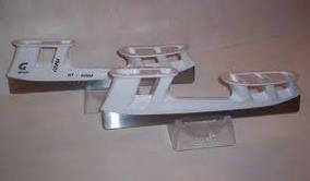 Graf  Bandy Komplett Ryss-stål - Graf bandy komplett ryss-stål stl 254 oslipade