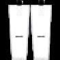 Bauer Flex Stock Hockey Sock 600 series - Bauer Flex stock Sr/White/L-XL