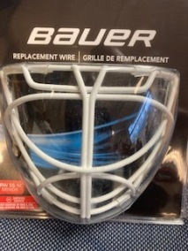 Bauer Cat-eye Replacement Wire - Bauer Cat-Eye replacement wire Sr  White