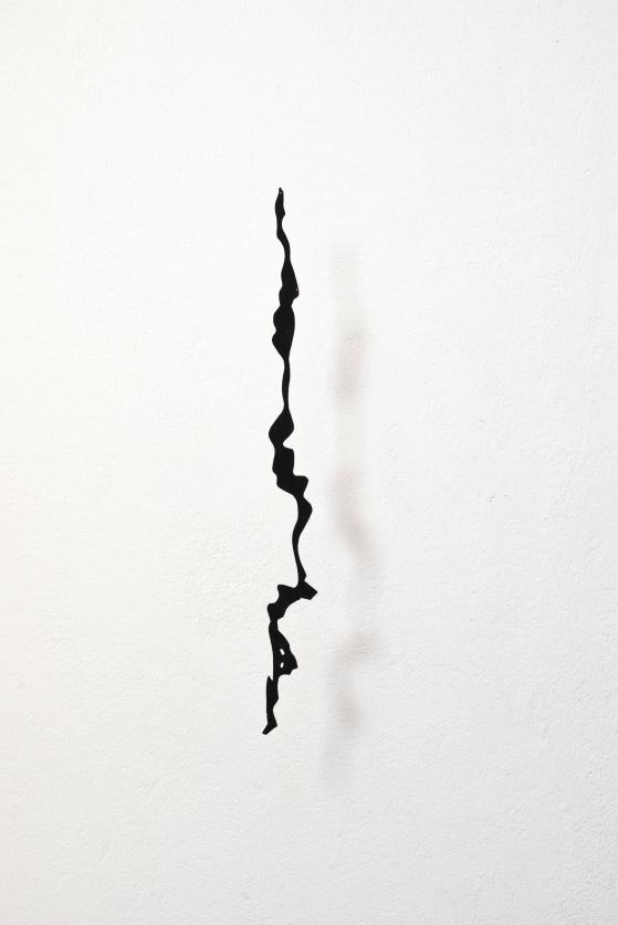 Sprickan, papper på aluminium