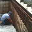 Renovera betong trapp