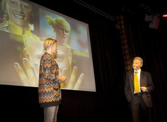 Med Carolina Klüft på Stora Måldagen 2013