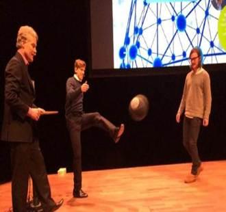 Kick off SOI-konferensen Umeå 2014 med bröderna Jesper och Joakim Blomqvist