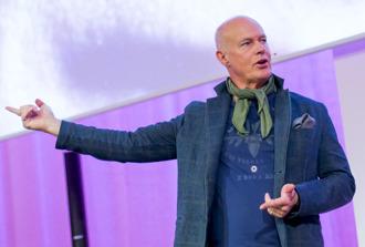 Stefan Sauk på Stora Mötesdagen 2016
