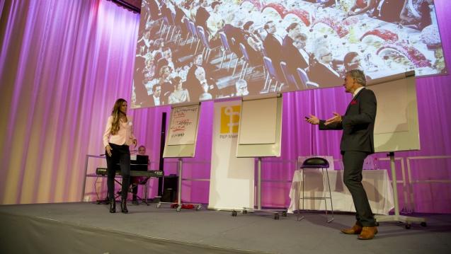 Med Katarina Sandström, SVT på Stora Mötesdagen 2016