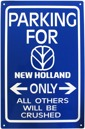 Skylt Parking For NH Only