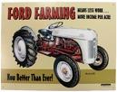 Ford Farming Skylt
