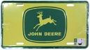 Skylt John Deere, gul