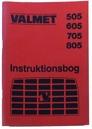 Instruktionsbok Valmet 505 - 805