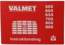 Instruktionsbok Valmet 505 - 905