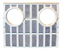 Frontgrill Ford 2000 - 4100, 500, 7000. REF: VPM1165
