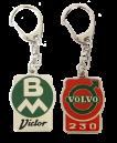 *Emaljerad nyckelring BM 230 Victor