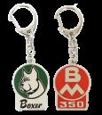 *Emaljerad nyckelring BM 350 Boxer