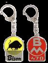 *Emaljerad nyckelring BM 470 Bison