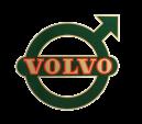 Dekal Volvo BM till Bakskärm LITEN