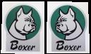 BM 350 Boxer dekal Hö + Vä
