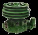 Vattenpump TD60B 4 spårig remskiva