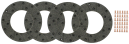 Bromsbelägg BM 650-700.  REF: 840916
