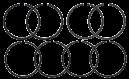 Kolvringar MF 35 , 65 mfl BM 320 REF: 41158058