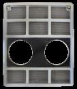 Grill Case IH 684-885. REF: VPM1080