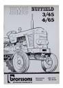 Handbok BMC Nuffield 3/45 och 4/65