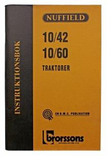Instruktionsbok Nuffield 10/42 och 10/60