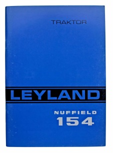 Traktorhandbok Leyland Nuffield 154