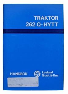 Handbok Traktor 262 Q hytt