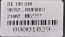 Växelväljare JD 7710, 6610