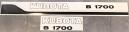 Dekalsats Kubota B1700