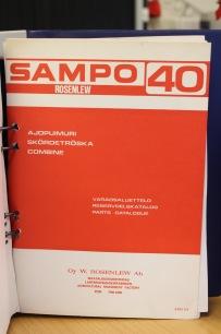 BEG. Reservdelsbok Sampo 40