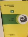 BEG. Reservdelsbok JD 2650, 2650N, 2850
