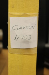 BEG. Reservdelsbok Clayson M 130