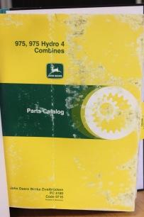 BEG. Reservdelsbok JD 975, 975 Hydro 4
