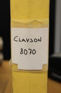 BEG. Reservdelsbok Clayson 8070