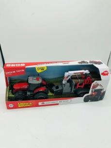Traktor med vagn, friktion