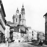 Karmelitská ulice těsně po r. 1900