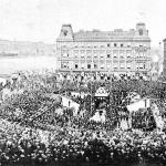 kladení základnho kamene ND 16.kvtna 1868