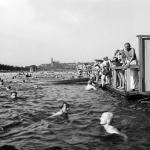 Žluté lázně ve třicátých letech