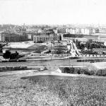 Vršovice z Bohdalce 1927