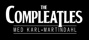 The Compleatles logo-white-on-black