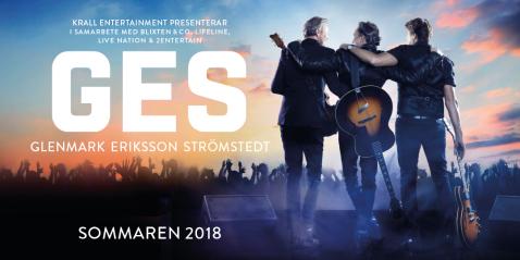 Missa inte GES 2018 i Lysekil (21/7) och i Karlstad (2/8) - biljetter säljs via ges.se