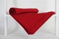 Hålsömsduk 150x250cm Röd